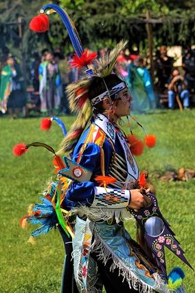 Lenape Powwow Fancy Dancer5