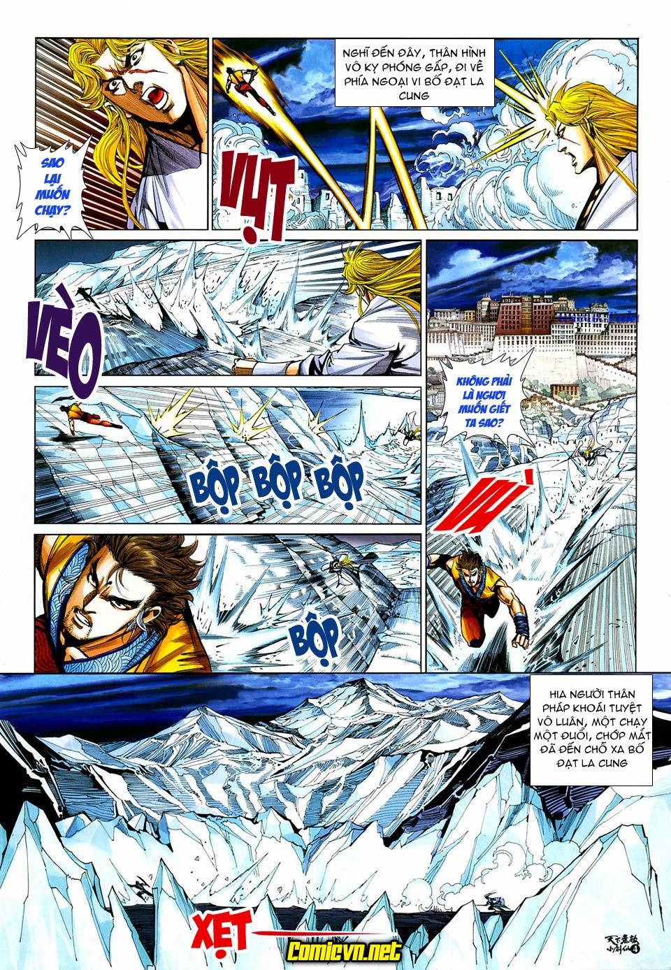 Thiên Hạ Vô Địch Tiểu Kiếm Tiên chap 32 - Trang 4