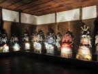 Samurai Armor in Himeji Castle