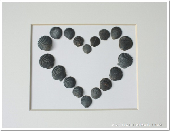 Shell Valentine Craft