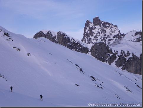 Pico de Canal Roya 2345m con esquis (Portalet, Pirineos) (Isra) 7351