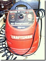 Craftsman compressor (Small)