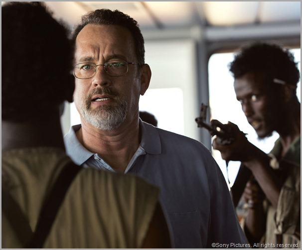 Tom Hanks in CAPTAIN PHILLIPS. CLICK to visit the official site.