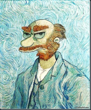 vangoghsimpsons