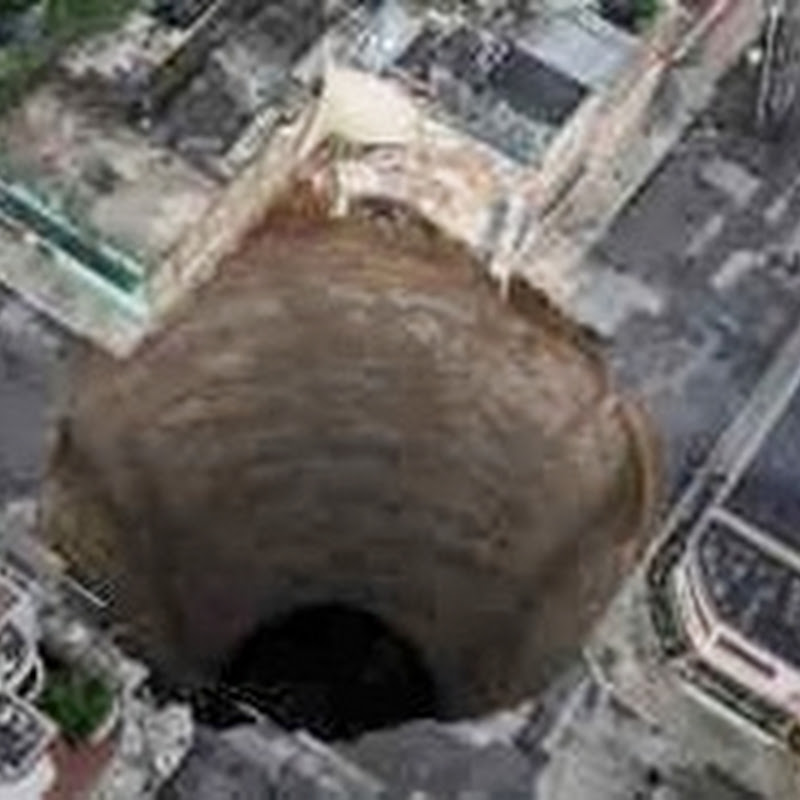 Crateras gigantescas encontradas na Guatemala e na China, e sua relação com o alinhamento galáctico em 2012
