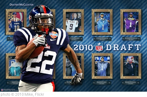'2010 NFL Draft - McCluster' photo (c) 2010, Mike - license: http://creativecommons.org/licenses/by-sa/2.0/