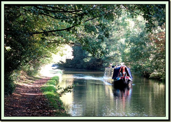 The Bridgewater Canal at Lymm