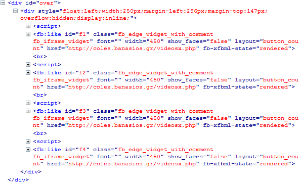 Source code of the video