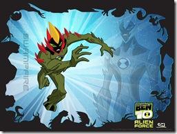 SwampFire-wallpapaer Fogo Fátuo ou Fogo Selvagem – Força Alienigena