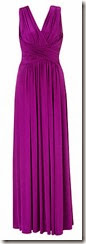 Deep Grape Jersey Maxi Dress