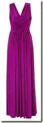 Deep Grape Jersey Maxi Dress