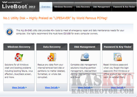 Download Wondershare LiveBoot 2012 Free License Key (Limited Period)