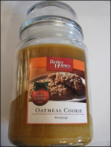 Better Homes and Garden Oatmeal Cookie Candle