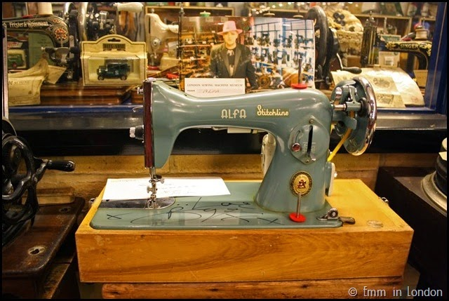 London Sewing Machine Museum retro Alfa Stitchline machine