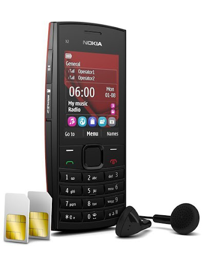 Nokia X2-02 - un telefono Dual SIM