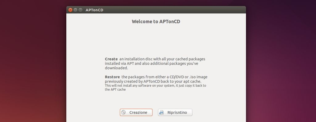 APTonCD in Ubuntu Linux