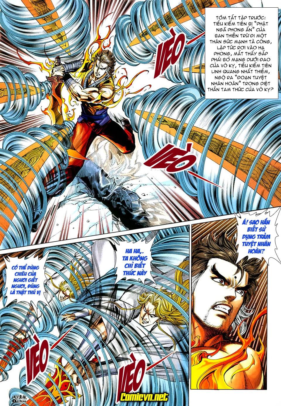 Thiên Hạ Vô Địch Tiểu Kiếm Tiên chap 32 - Trang 2