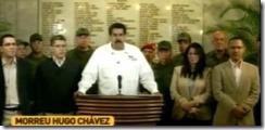 Hugo Chávez Morreu. Mar.2013