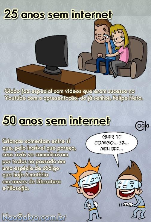O mundo sem INTERNET - 4ª parte