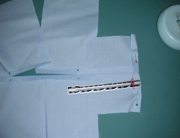 doll scrub shirt step 11