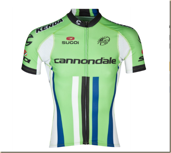 MAILLOT ÉQUIPE CANNONDALE PRO CYCLING