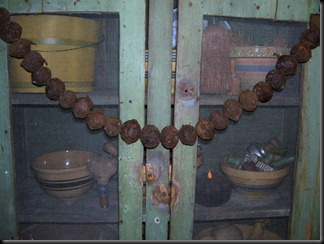 black walnut garland