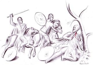 Dacii si romanii - Sinuciderea lui Decebal
