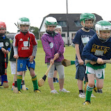 2/7/2012 ECHO SPORT - Cathal O'Brien takes his turn during the recent Camp Ciaran GAA Camp at the Shamrocks GAA Club (Pic Howard Crowdy)