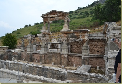 Ephesus Nymphaeum fountain