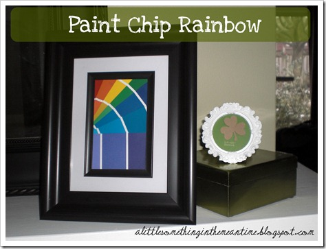 Paint Chip Rainbow