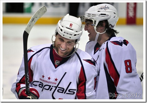Wideman and Ovechkin