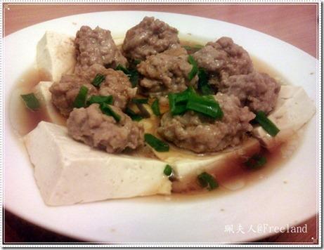 豆腐蒸肉碎