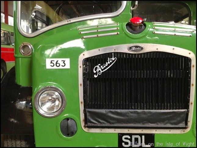 Front Detail SDL268 Bristol LD6G