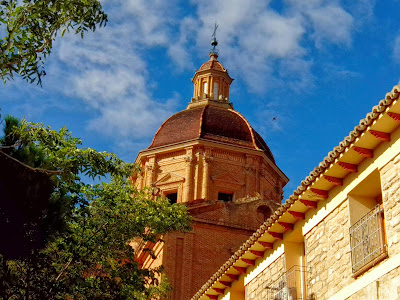 cúpula Monasterio de Santa Fe cuarte de Huerva