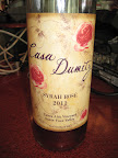 Casa Dumetz's Syrah Rose - made by Emilio Estevez and his wife Sonja.