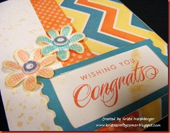 Dotty for You_wishing you congrats upright card close up