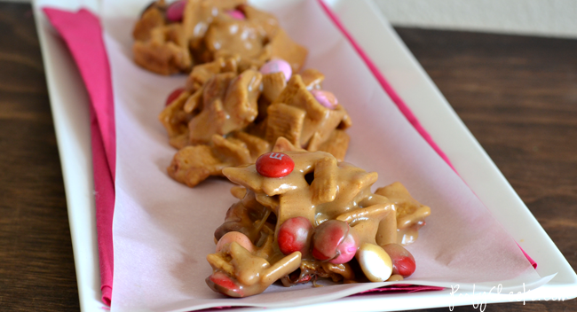 Valentine's Day Golden Graham Cereal Snack