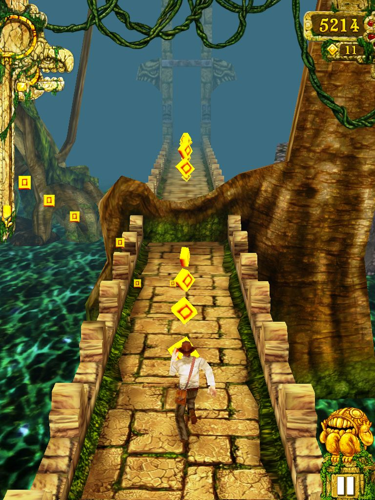 Temple Run On Android [Qvga, Hvga, Wvga] | Galaxy Y Station