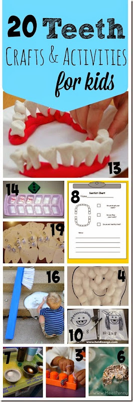 20 Dental Health Month Crafts and Activities for Kids & TGIF