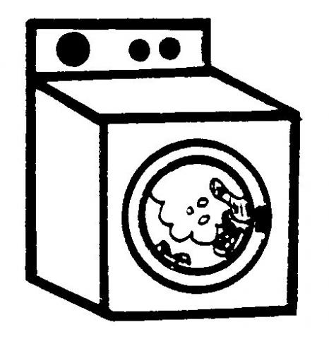 Colorear dibujos de lavadoras - Fotos de lavadoras ...