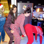 the onesie-centipede-grind in North York, Ontario, Canada
