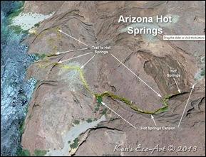 Ken39s Photo Gallery Arizona Hot Springs  White Rock