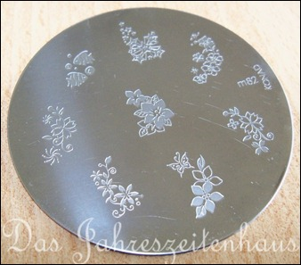 Stamping Schablone Plate Konad m82