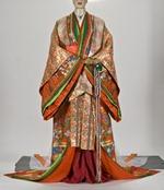 Réplica de quimono de 12 camadas usado nas cortes japonesas (foto: Helio Tenguan Nobre)