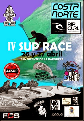 CARTEL IV SUP RACE COSTANORTE