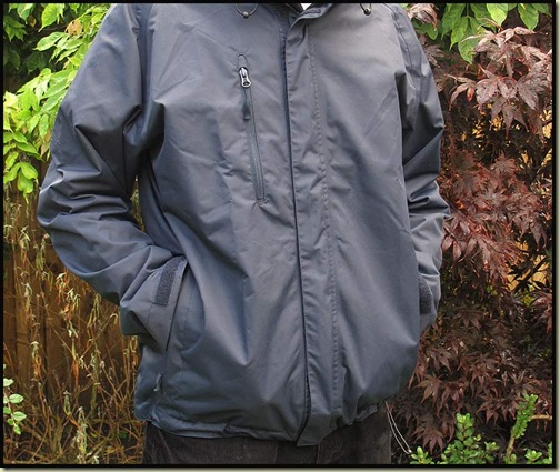 Jerzees Colours Mens Hydraplus Jacket - handwarmer pockets