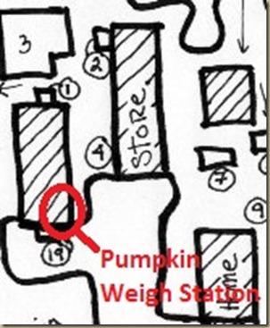 pumpkin weigh station
