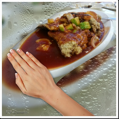 Deep Fried Fish Tail in Sweet & Sour Sauce - RM49