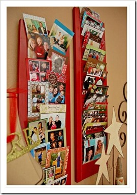 christmas card display 3