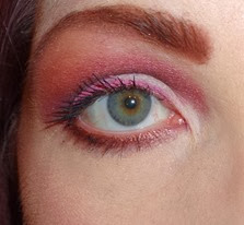 radiant orchid eyes open